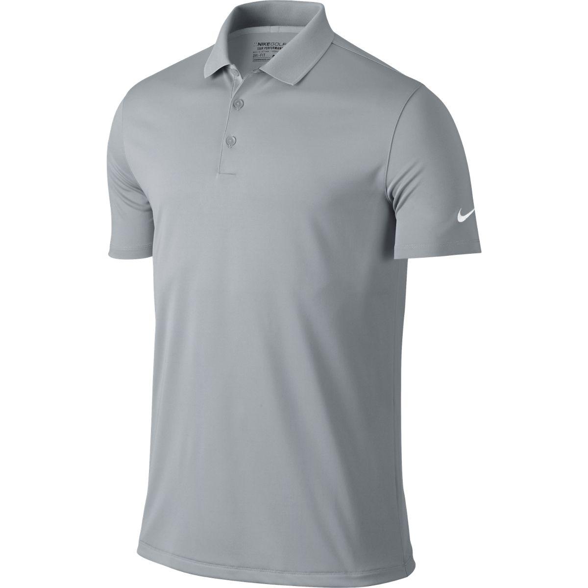 Nike Men's 2017 DriFit Victory Golf Polo Grey