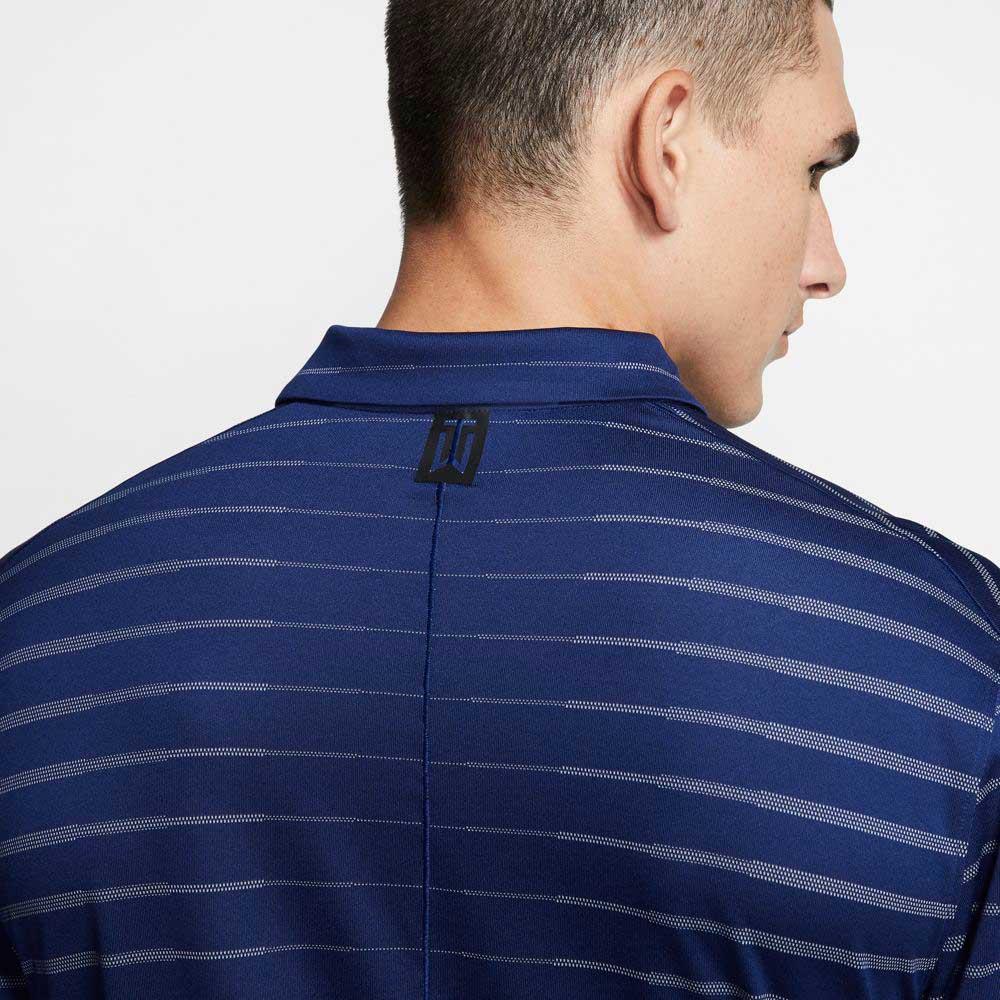 Nike Men's 2020 Dri-Fit Tiger Woods Stripe Polo