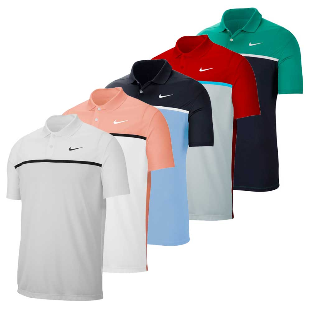 Nike Men's 2020 Dri-Fit Victory Colorblock Polo