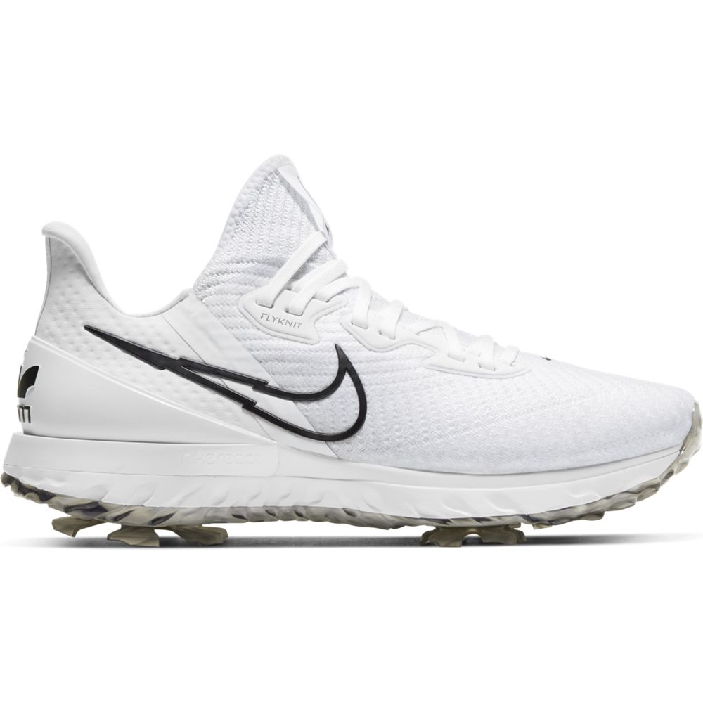 Nike Men's 2021 Air Zoom Infinity Tour White/Black Golf Shoe