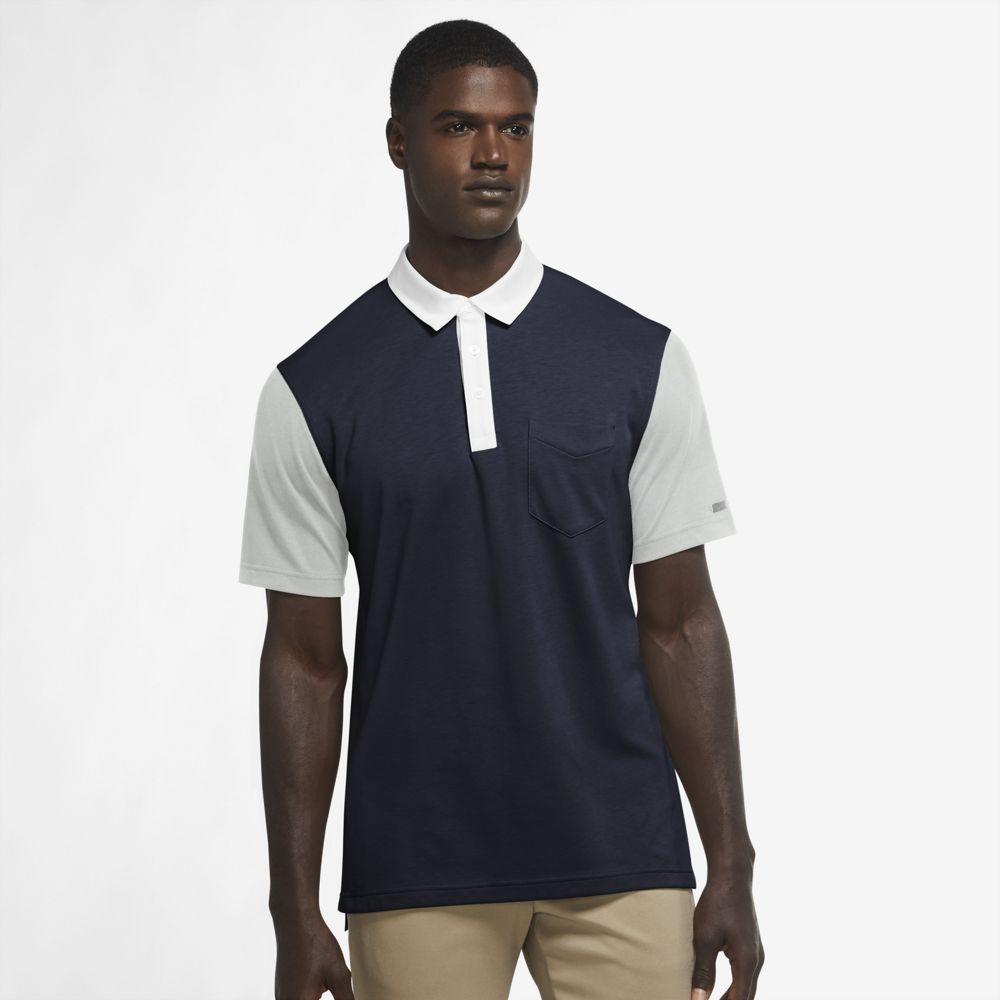 Nike Men's 2021 Dri-Fit Player Color-Block Golf Polo
