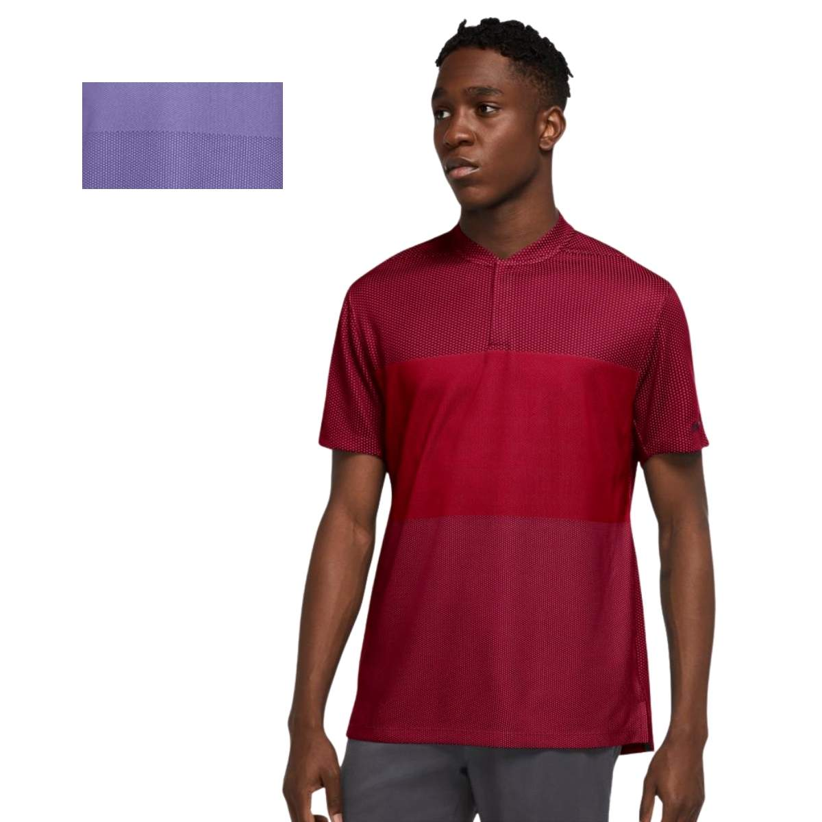 Nike Men's 2021 Dri-FIT Tiger Woods Blade Polo