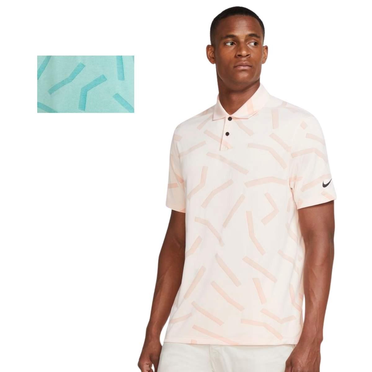 Nike Men's 2021 Dri-Fit Vapor Course Print Golf Polo
