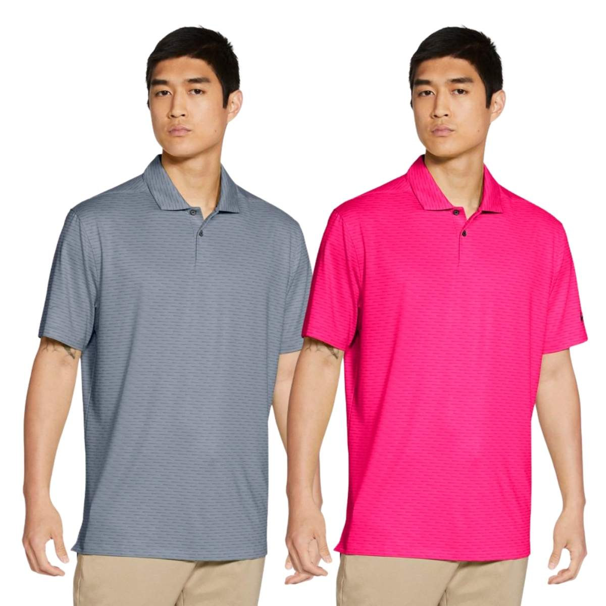 Nike Men's 2021 Dri-Fit Vapor Micro Stripe Polo