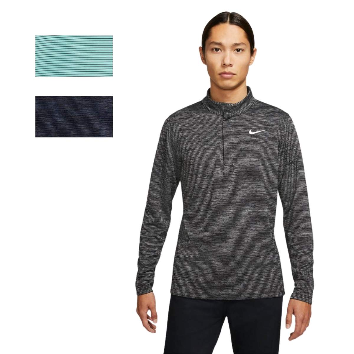 Nike Men's 2021 Dri-Fit Victory Heather 1/2 Zip Pullover