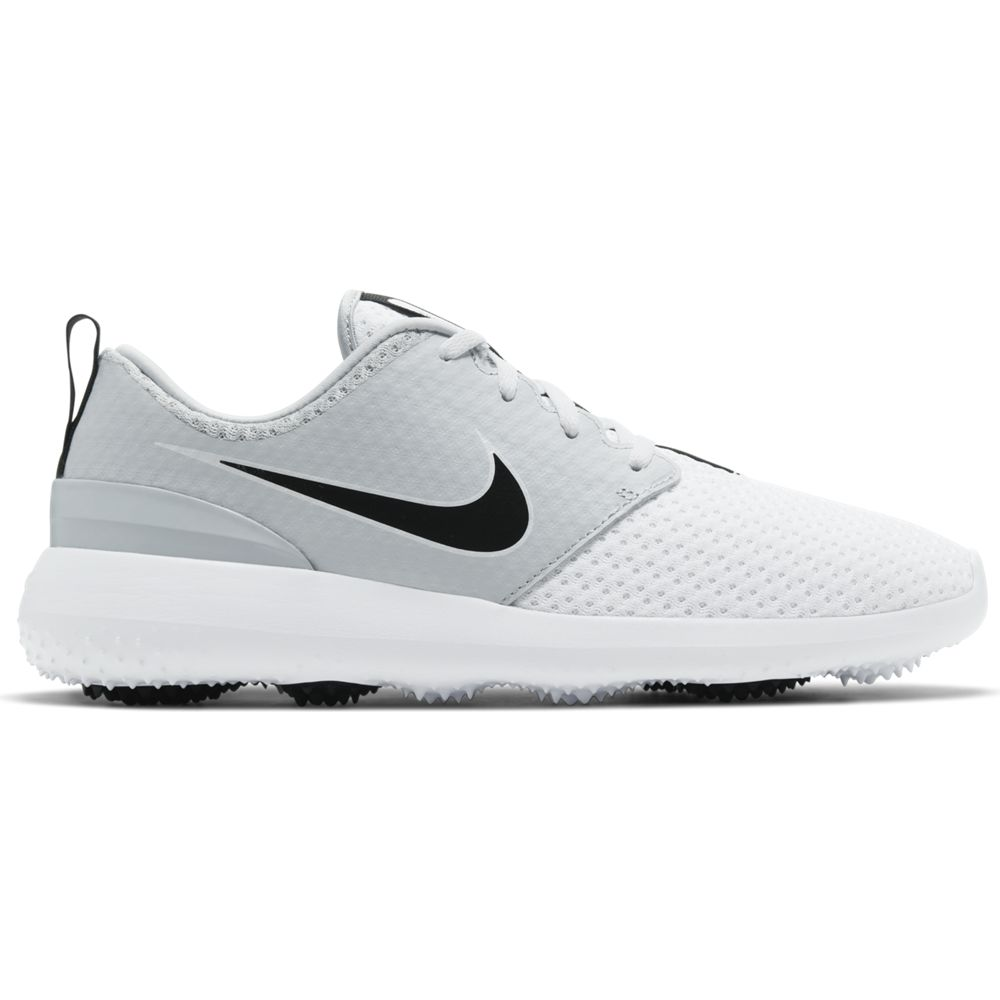 Nike Men's 2021 Nike Roshe G White/Black Golf Shoe