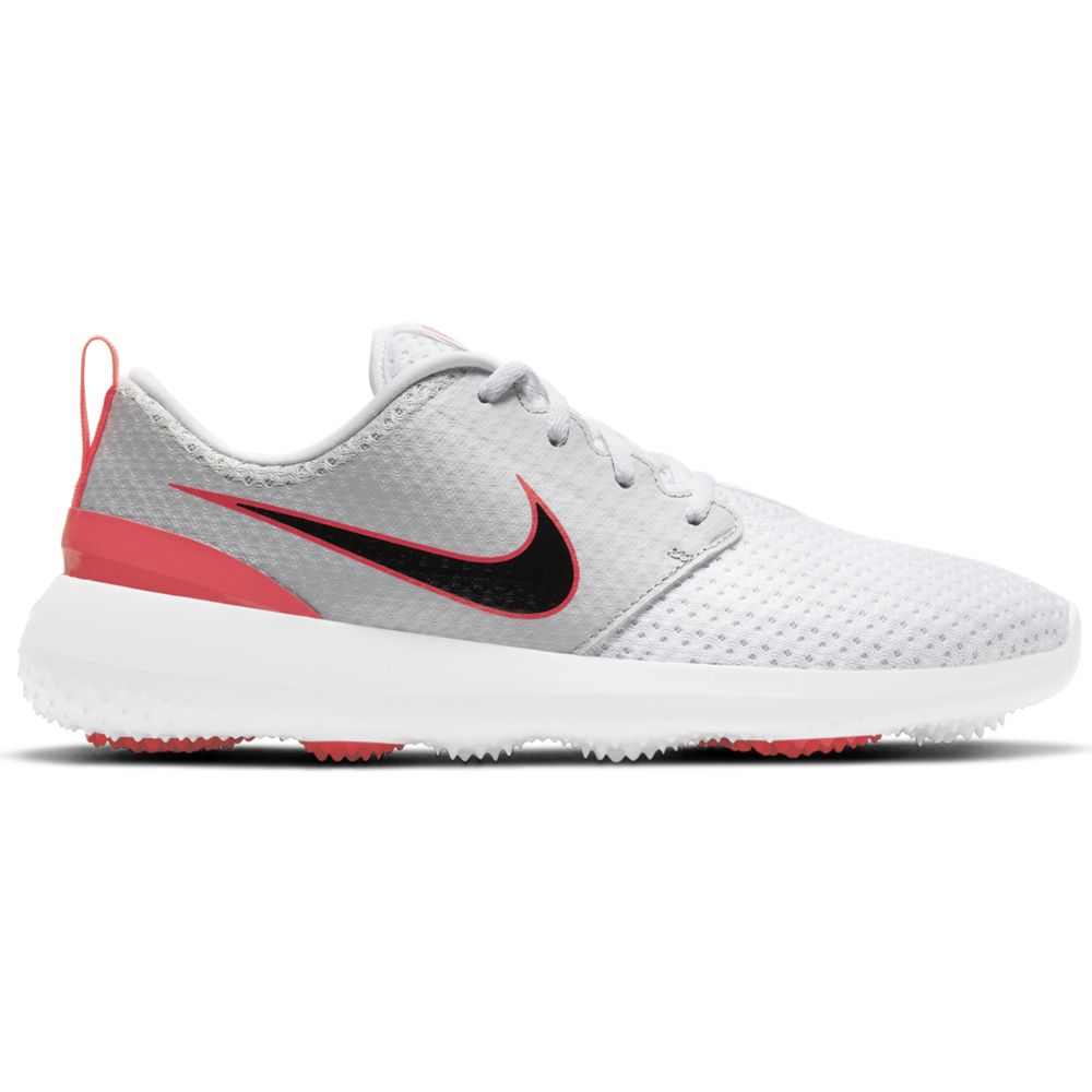 Nike Men's 2021 Nike Roshe G White/Infrared Golf Shoe
