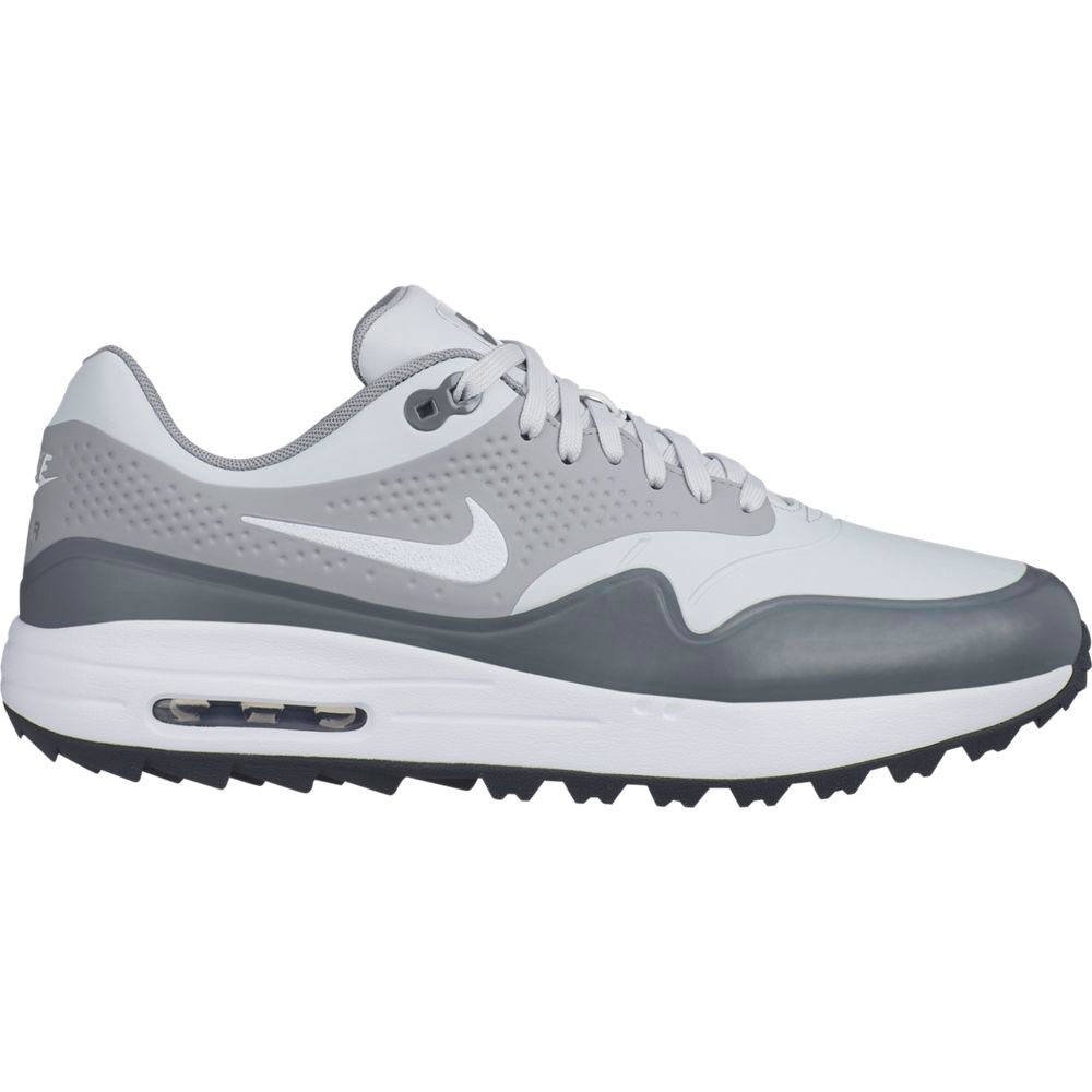 Nike Men's Air Max 1G Platinum Golf Shoe