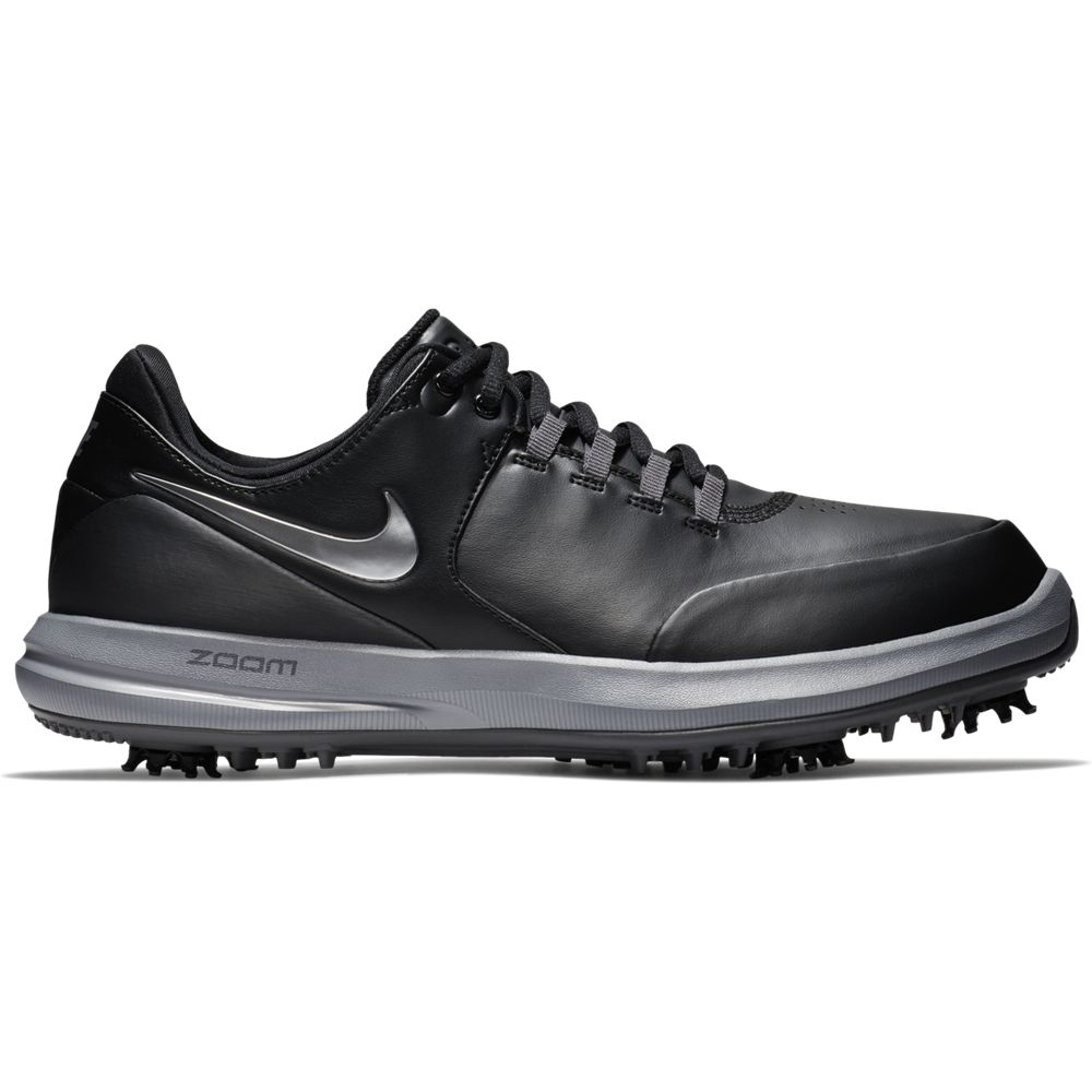 Nike Men's Air Zoom Accurate Golf Shoe - Black Wide