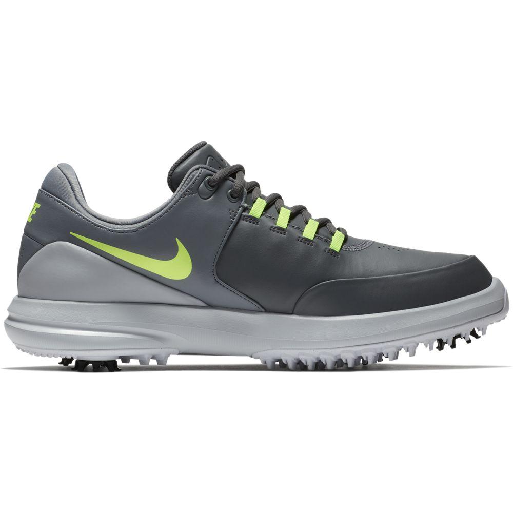Nike Men's Air Zoom Accurate Golf Shoe - Grey/Volt