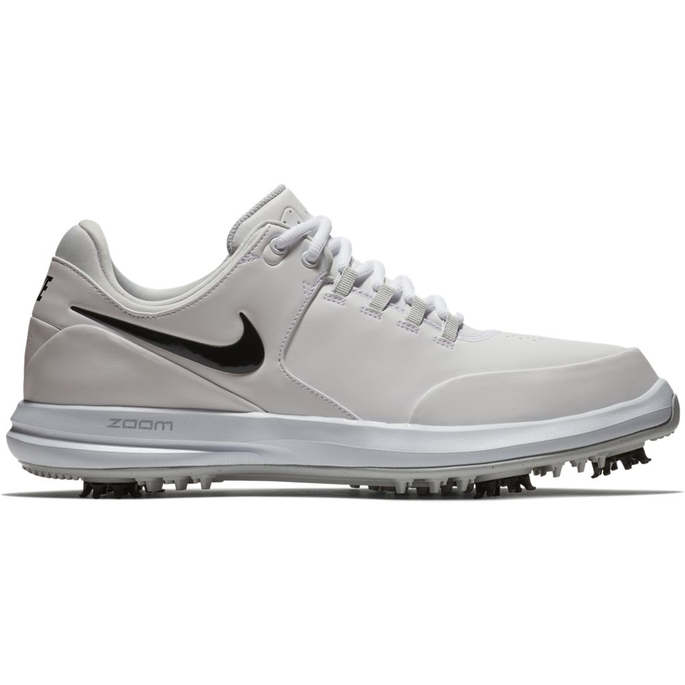 Nike Men's Air Zoom Accurate Golf Shoe - White Wide