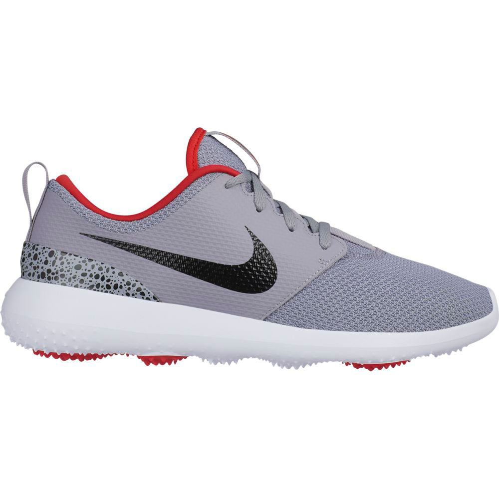 Nike Men's Roshe G Cement Grey Golf Shoe
