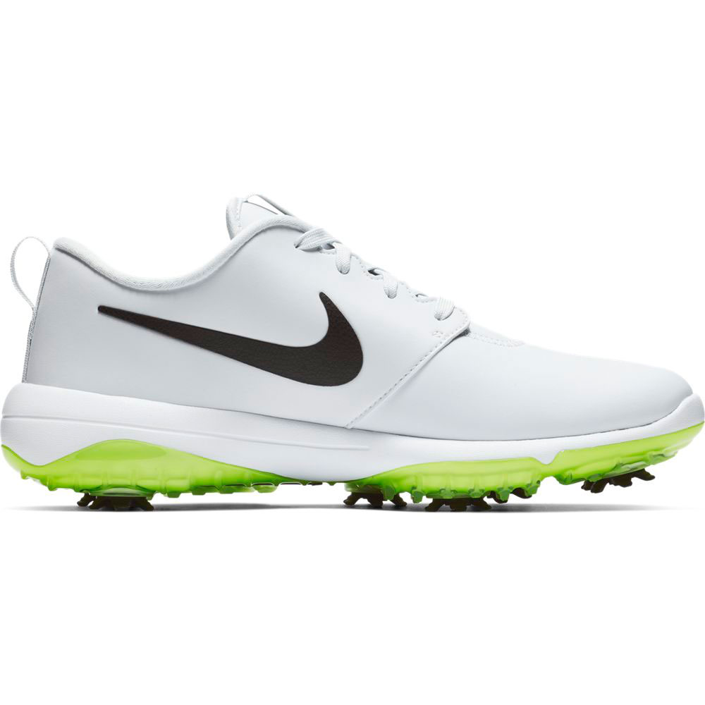 Nike Men's Roshe G Tour White/Volt Golf Shoe