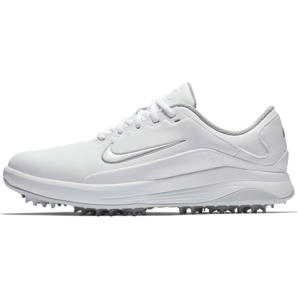 Nike Men S Vapor White Silver Golf Shoe