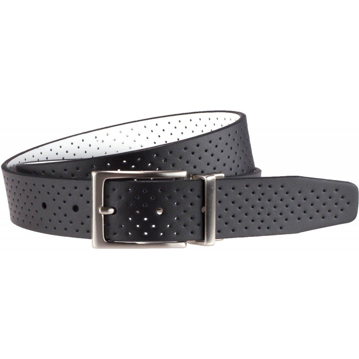 Nike Perforation Reversible Black/White Belt