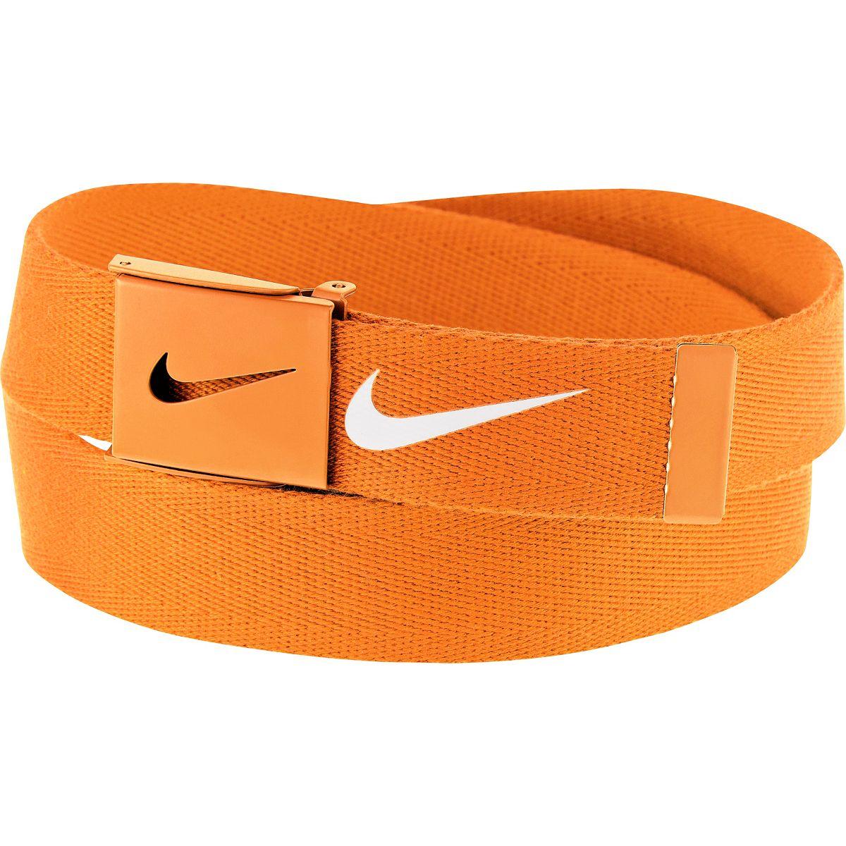 Nike Tech Essentials Web Belt - Orange