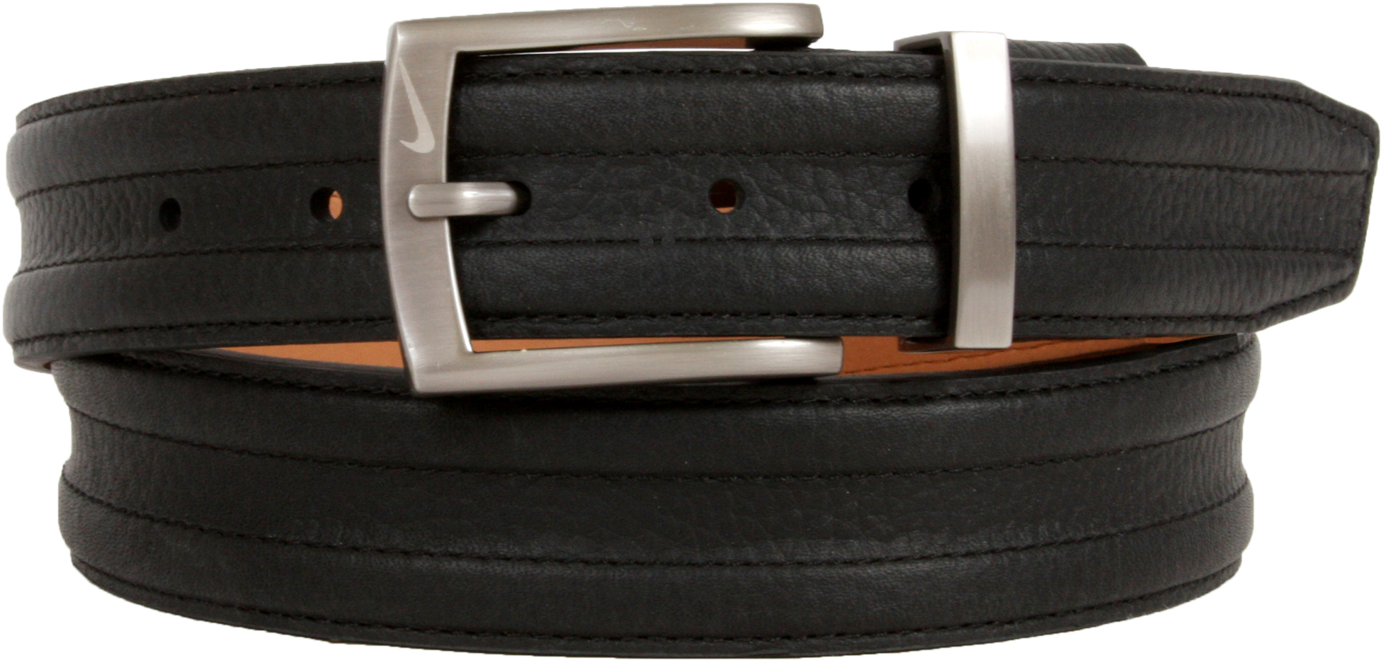 Nike Trapunto G-Flex Leather Golf Belt