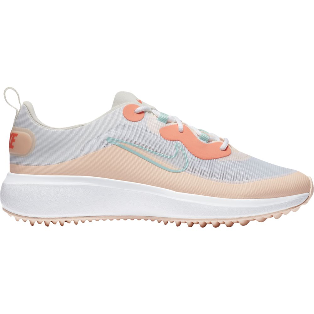 Nike Women's 2021 Ace Summerlite Golf Shoes - White/Light Dew