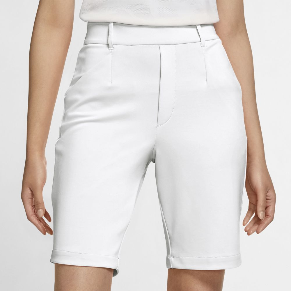 "Nike Women's 2021 Dri-Fit UV Ace 10"" Golf Shorts"