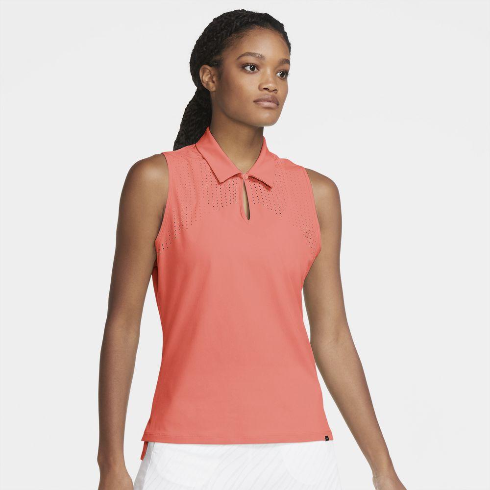 Nike Women's 2021 Flex Ace Sleeveless Golf Polo