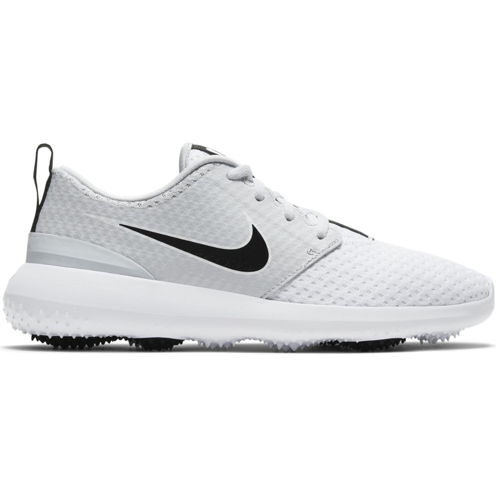 Nike Women's 2021 Nike Roshe G White/Black Golf Shoe
