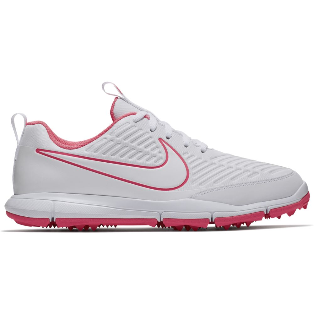 Nike Women's Explorer 2 Golf Shoe - White/Pink