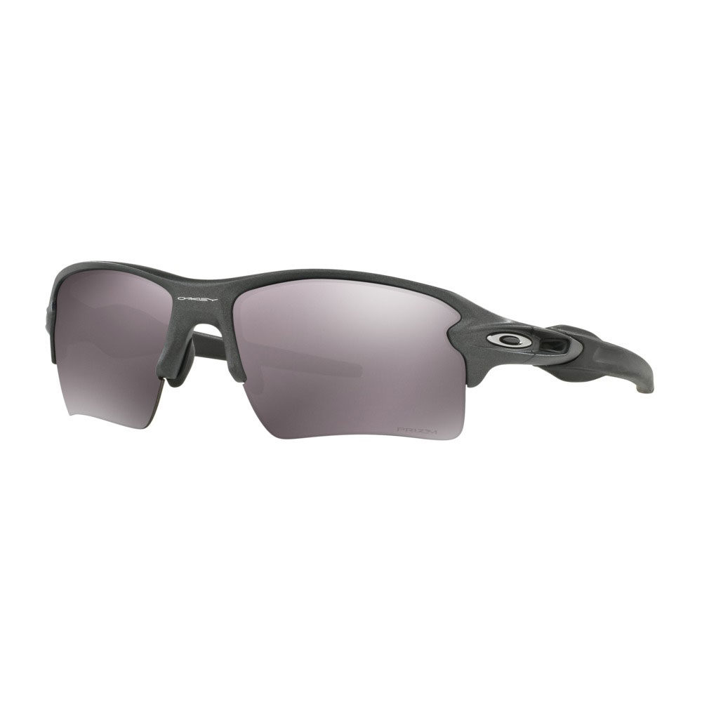 Oakley Flak 2.0 XL Steel Prizm Daily Polarized Sunglasses