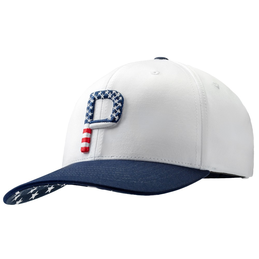 Puma Limited Edition Players Stars and Stripes Snapback Cap