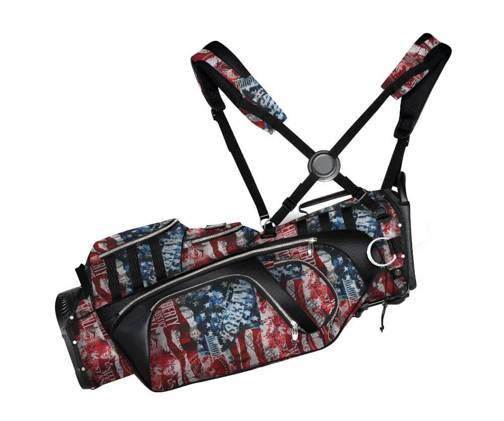 Subtle Patriot Stand Bag