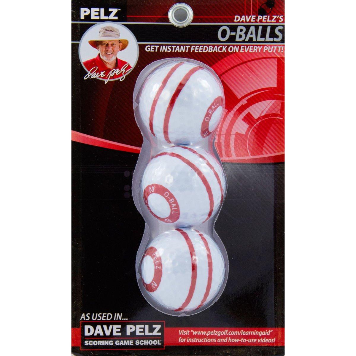 Dave Pelz's O-Ball 3 Pack