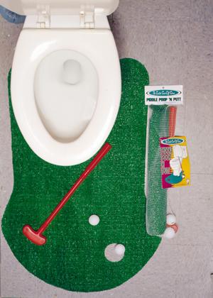 Piddle, Poop & Putt Rug