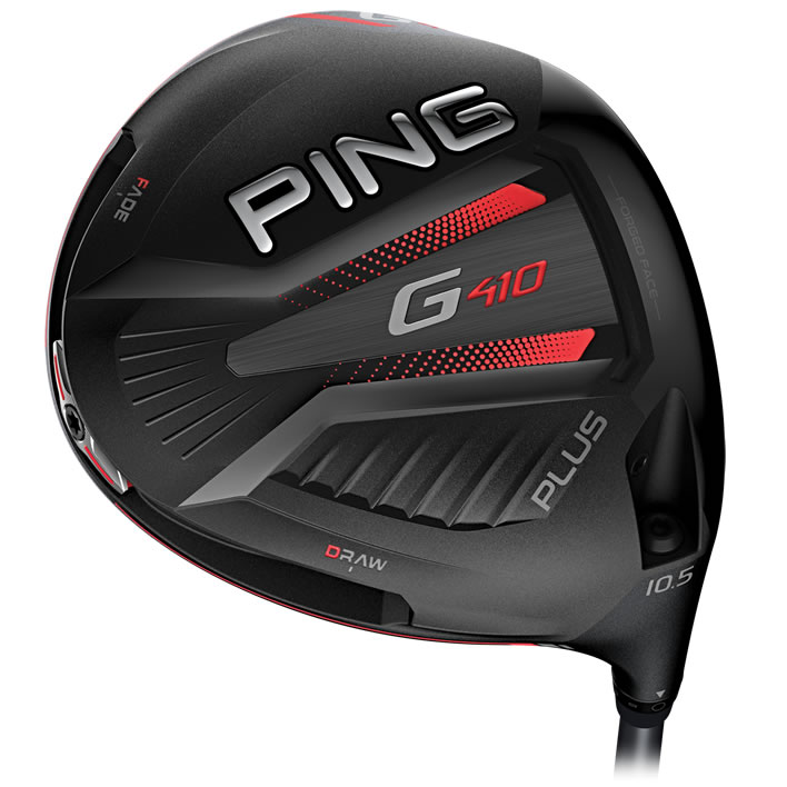 Ping G410 Plus Driver w/ Evenflow Black 75 Shaft