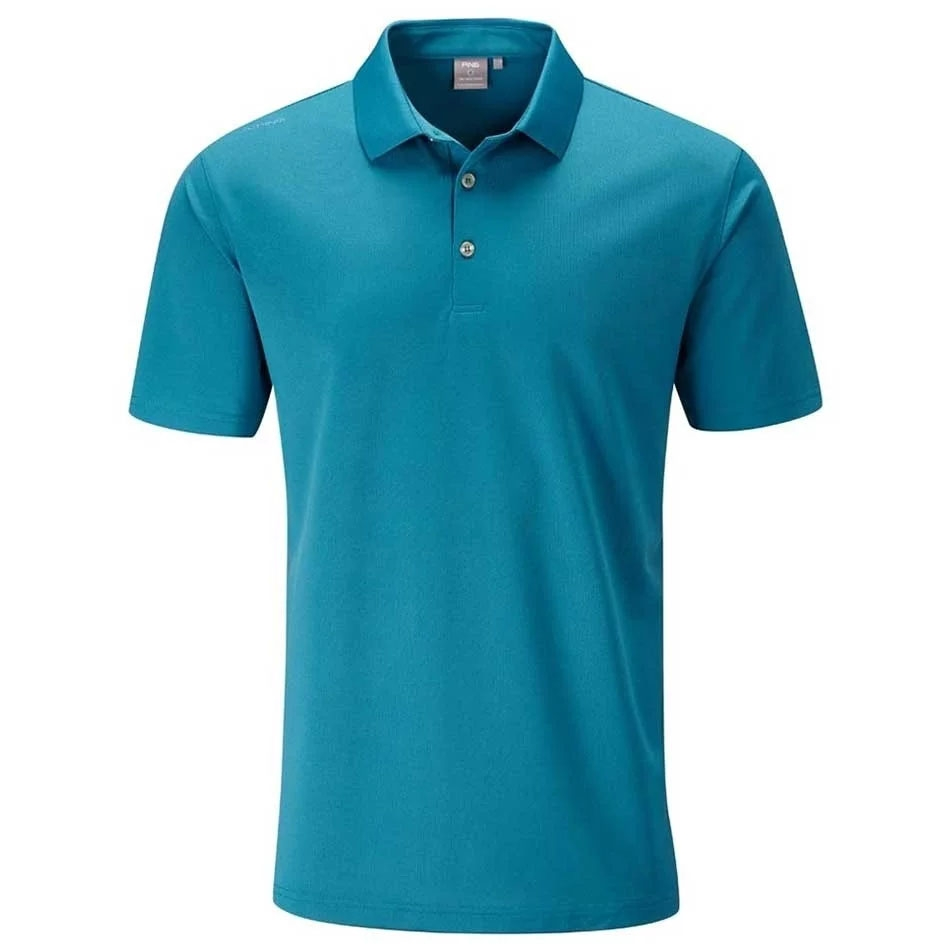 Ping Mens Lincoln Solid Golf Polo