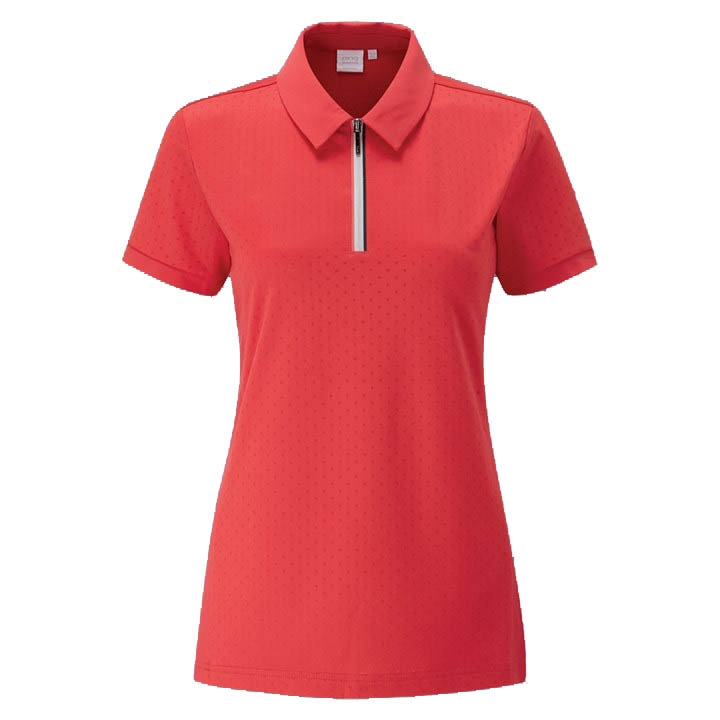 Ping Womens NOA 1/4 Zip Polo