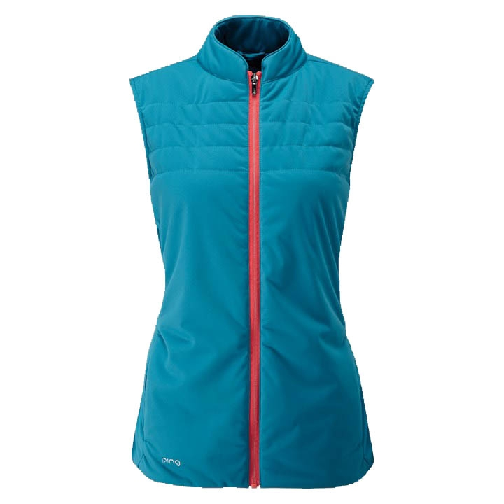 Ping Womens Oslo Full Zip Vest