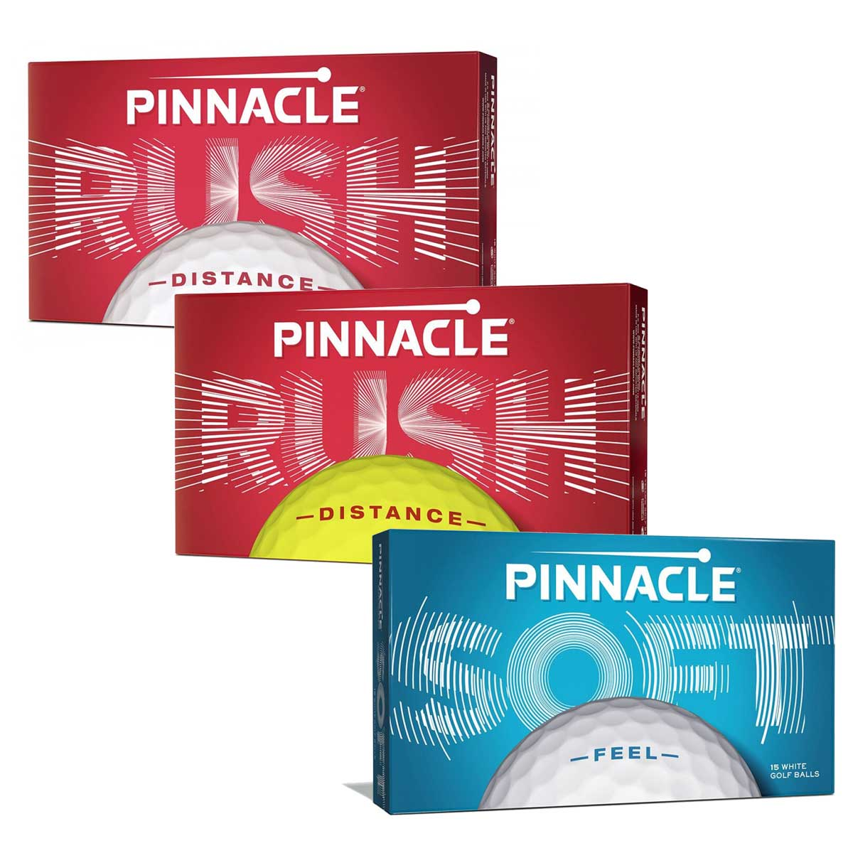 Pinnacle 15 Golf Ball Pack