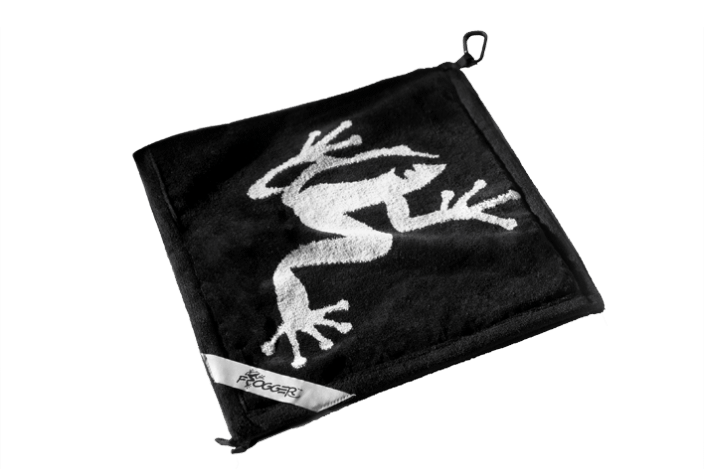 Pro Active Sports Frogger Amphibian Golf Towel Black