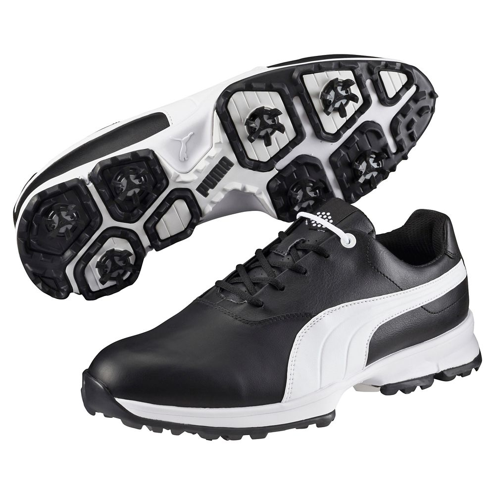 Puma Ace Golf Shoe - Black/White