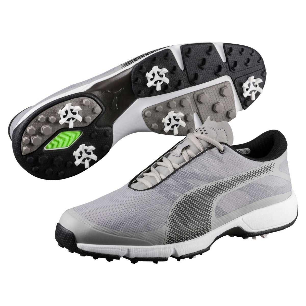 Puma Men's Ignite Drive Sport Golf Shoe - White/Black