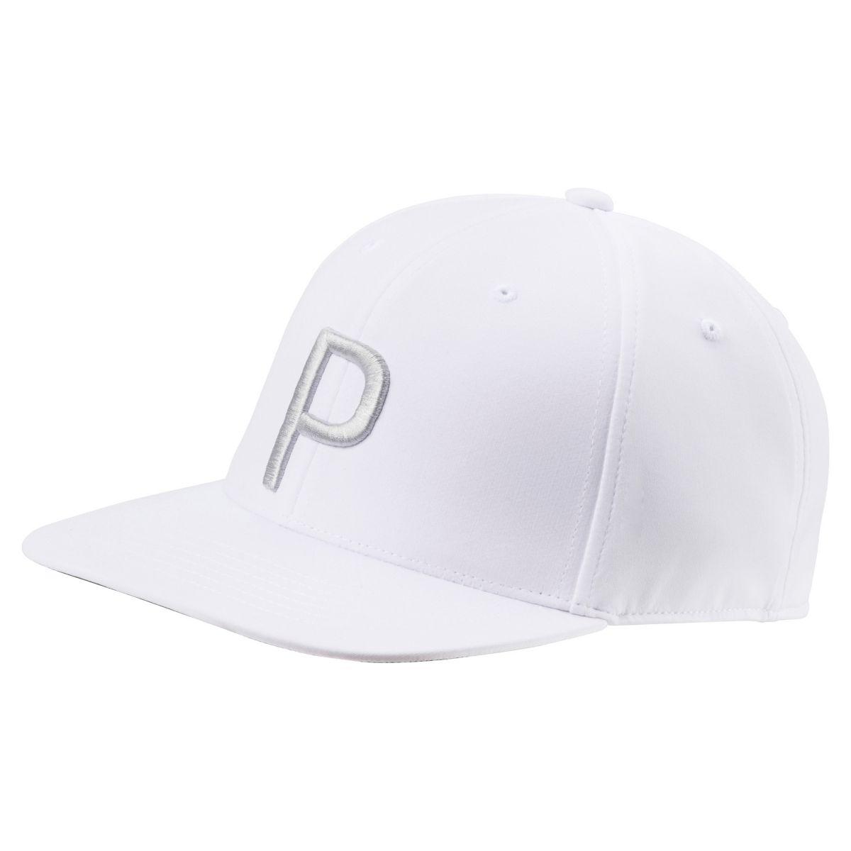 Puma Mens 110 Snapback Cap White