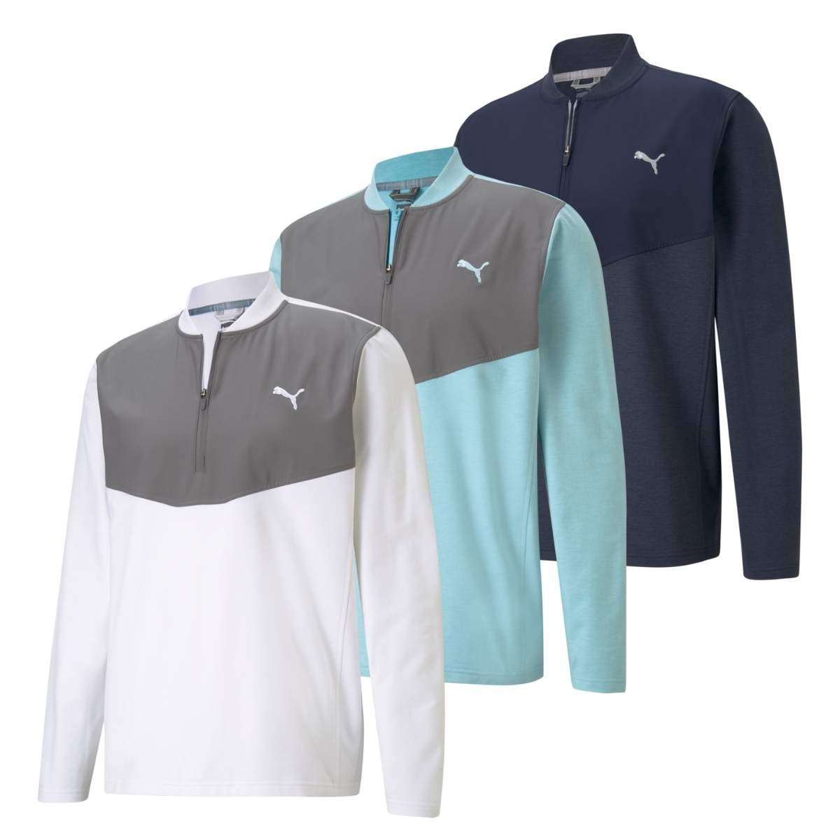Puma Men's 2021 Cloudspun Stlth 1/4 Zip Pullover