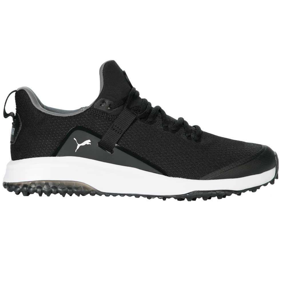 Puma Men's 2021 Fusion Evo Black/Quiet Shade Golf Shoe
