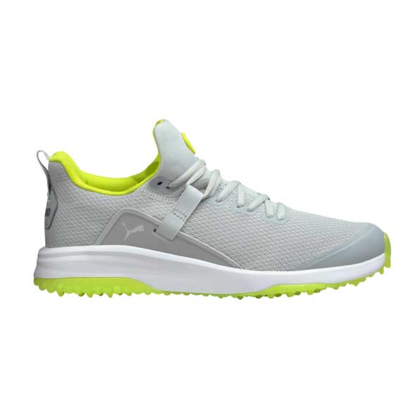 Puma Men's 2021 Fusion Evo High Rise/Lime Golf Shoe