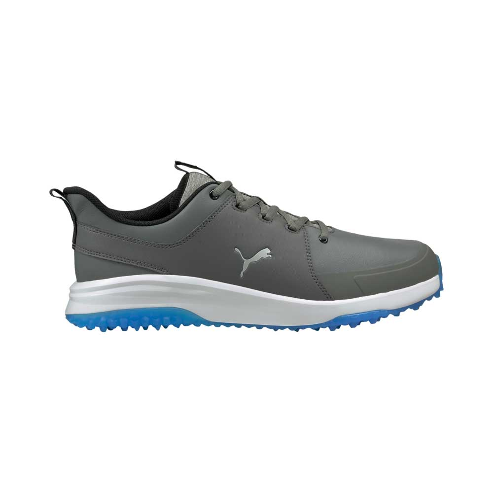 Puma Men's 2021 Grip Fusion Pro 3.0 Quiet Shade Silver Golf Shoe