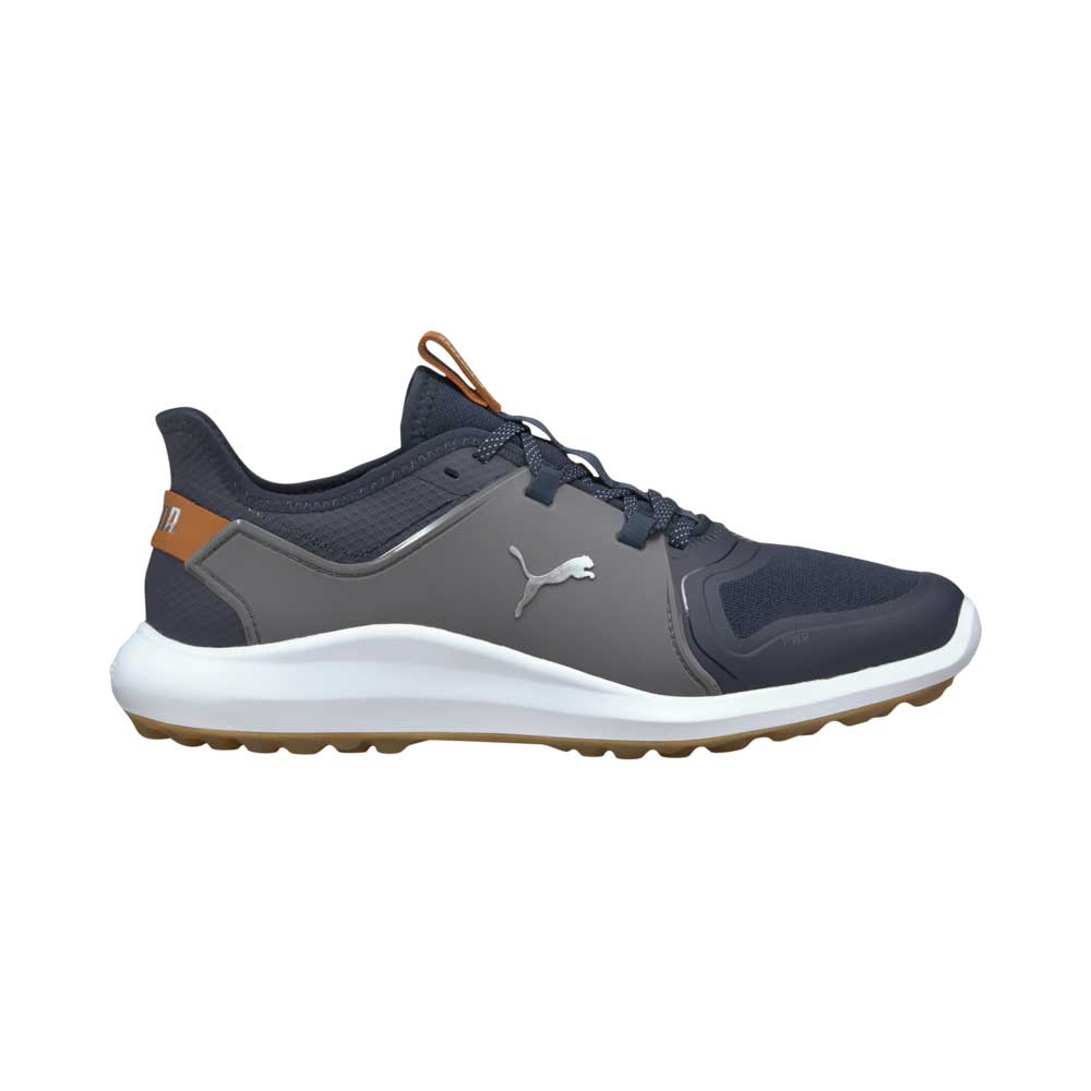 Puma Men's 2021 Ignite Fasten8 Navy/Silver Golf Shoe