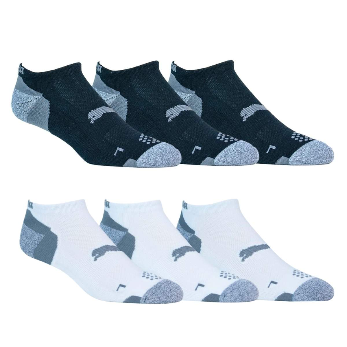 Puma Men's 2021 Pounce Low Cut 3 Pack Socks