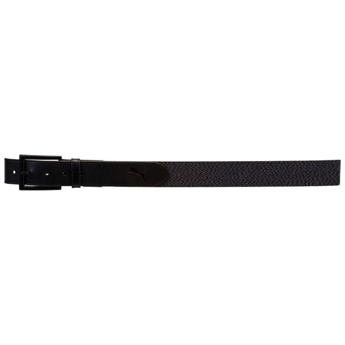 Puma Mens Fusion Stretch Fitted Belt Black