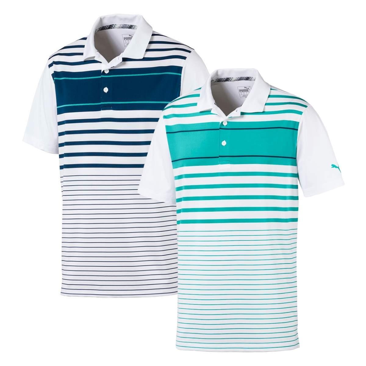 Puma Men's Spotlight Stripe Polo