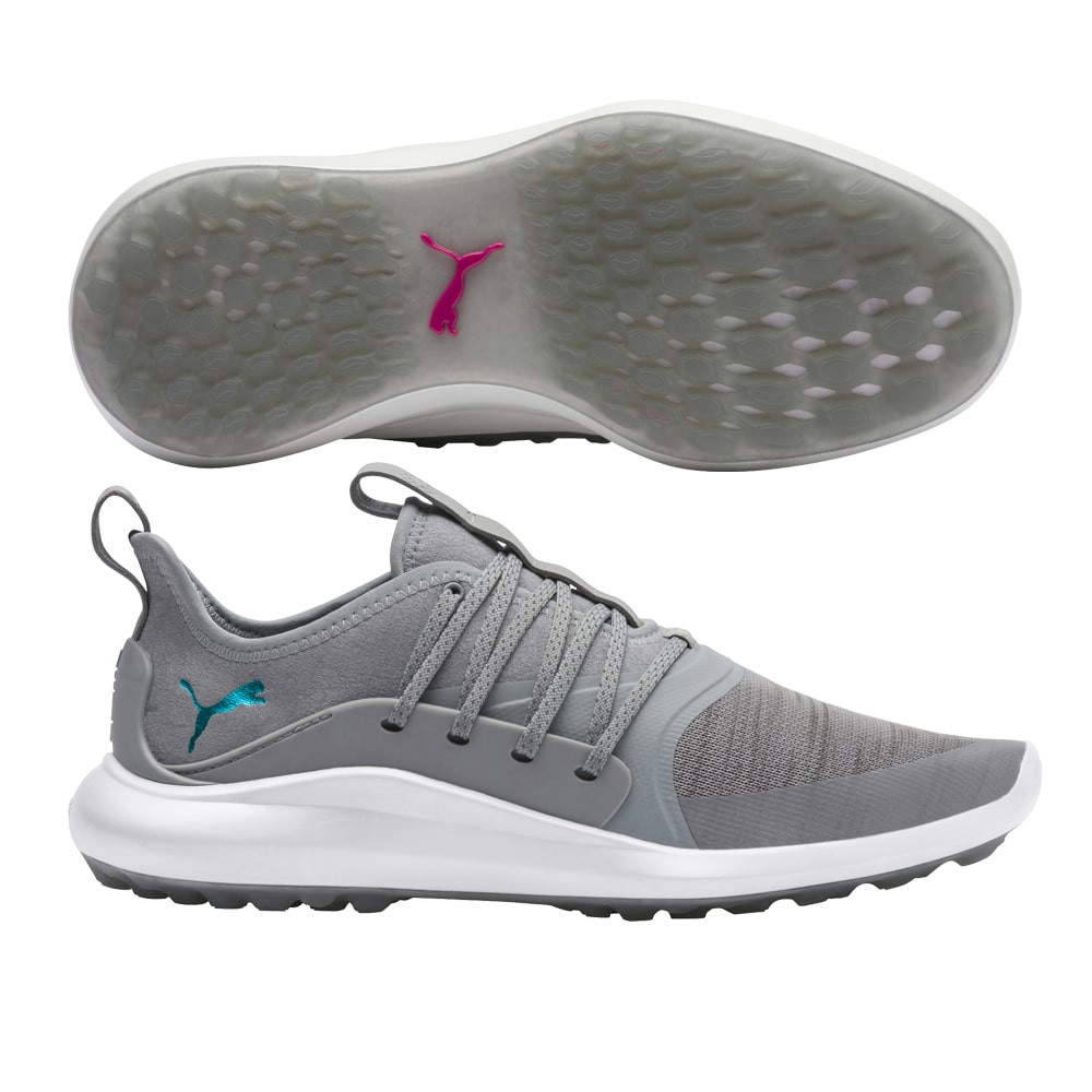 Puma Women's Ignite NXT Solelace Grey/Blue Golf Shoes