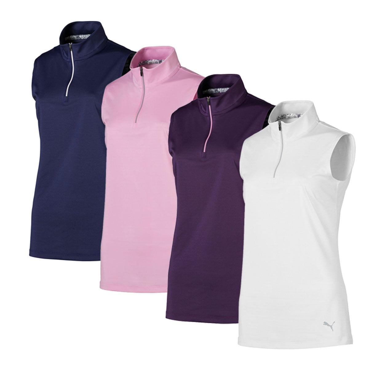 Puma Women's Sleeveless Mock Polo